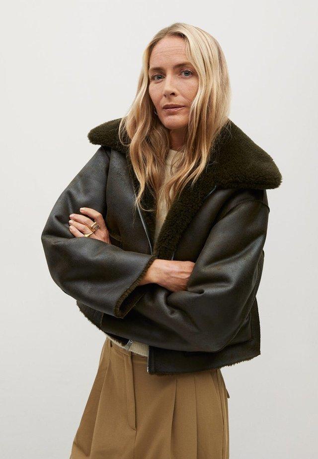 SPLASH - Winter jacket - kaki