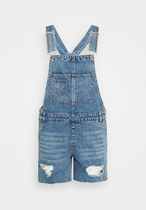 ONLAYLA LIFE AUTHENTIC PLAYS - Salopette - medium blue denim