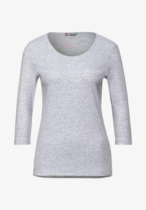 MIT MELANGEOPTIK - Long sleeved top - grau