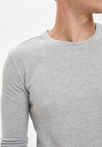 DeFacto - Stickad tröja - grey - 3