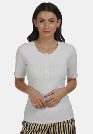 SHIRT - Basic T-shirt - weiss
