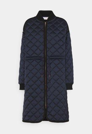 Zimní kabát - blue lagoon
