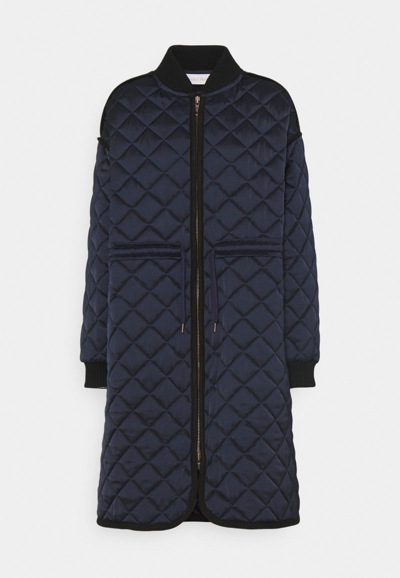 See by Chloé - Classic coat - blue lagoon