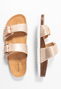 Anna Field - Slippers - rose gold - 3