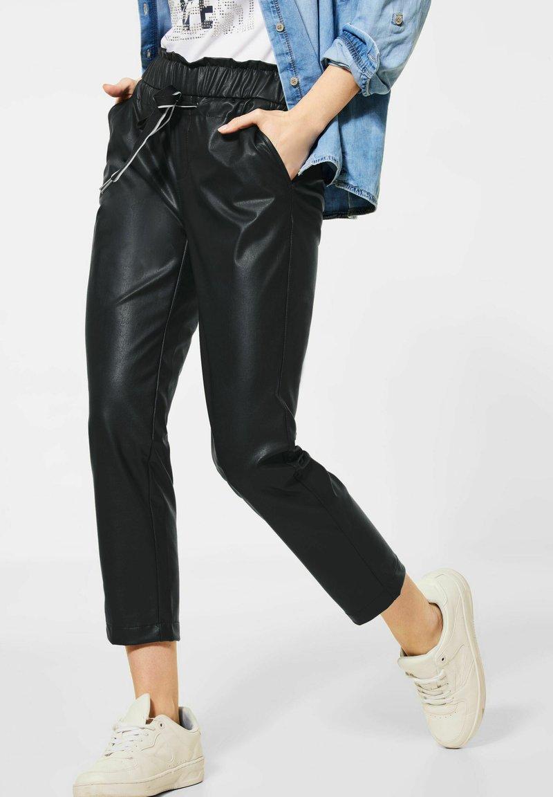 Street One - Trousers - dark blue
