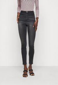 Missguided Tall - SINNER HIGHWAISTED CLEAN  - Jeans Skinny Fit - black - 0