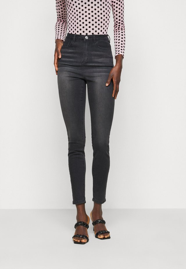 SINNER HIGHWAISTED CLEAN  - Jeans Skinny Fit - black