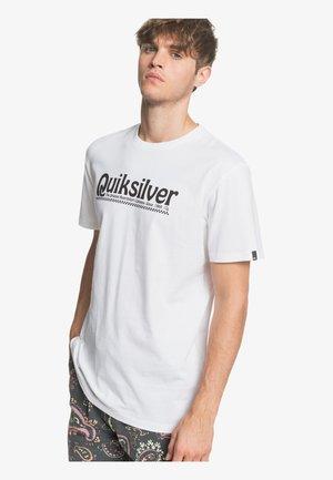 NEW SLANG - Print T-shirt - white