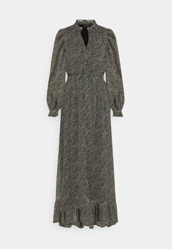 VMHIBISCUS SMOCK MAXI DRESS
