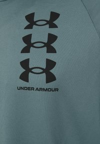 Under Armour - TRIPLE LOGO TECH - Triko s potiskem - lichen blue - 2