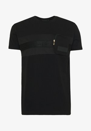 MORELLO  - T-shirt imprimé - black
