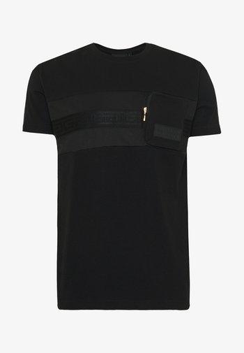 MORELLO  - T-shirt imprimé - black