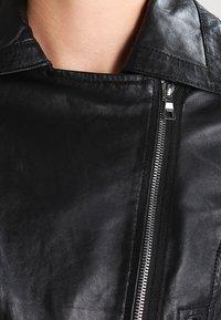 Ibana - BEAR BLAZE - Veste en cuir - black - 3