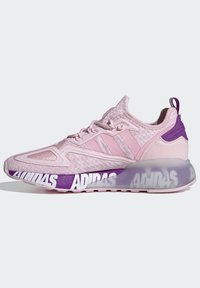 adidas Originals - ZX 2K BOOST SCHUH - Trainers - pink - 5