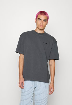 LOGO OVERSIZED TEE UNISEX - Basic T-shirt - vintage grey