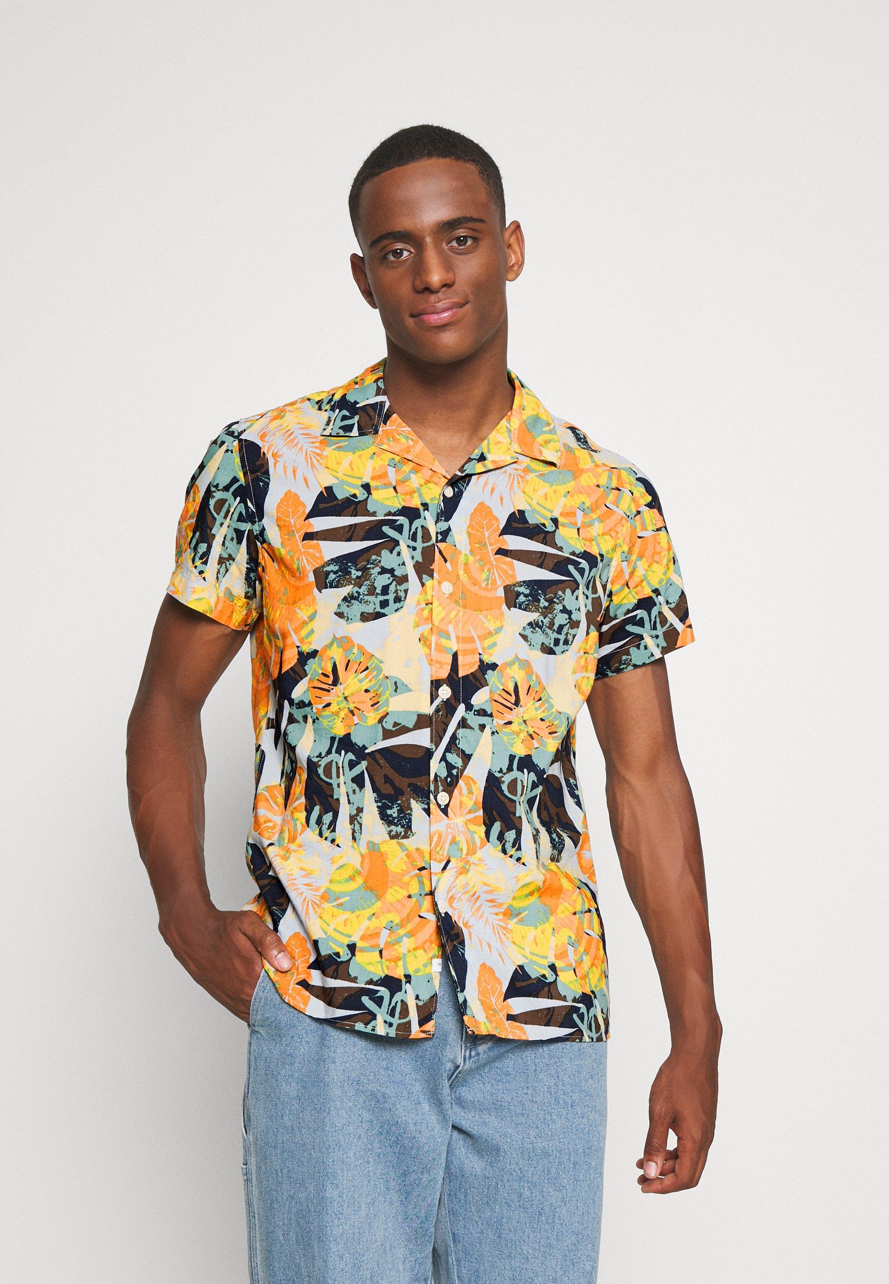 Hombre SLHREGJOEL CAMP - Camisa