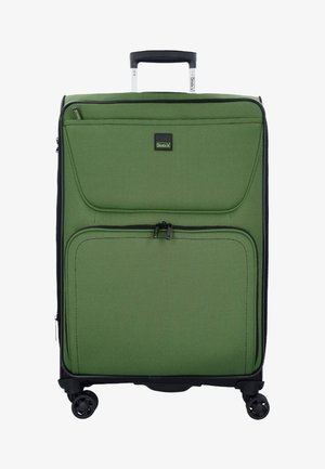 BENDIGO - Wheeled suitcase - green