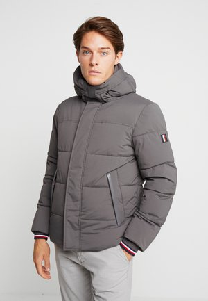 STRETCH HOODED - Vinterjacka - grey