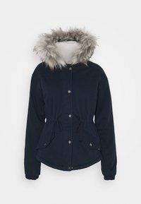 Hollister Co. - Zimní bunda - navy - 6