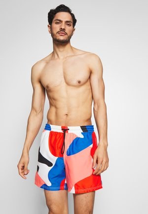BEAM - Swimming shorts - blue/pink