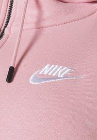 Nike Sportswear - HOODY PLUS - Zip-up hoodie - pink glaze/white - 2