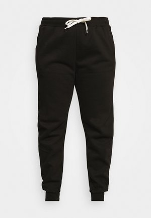 JOGGERS REGULAR FIT - Spodnie treningowe - black