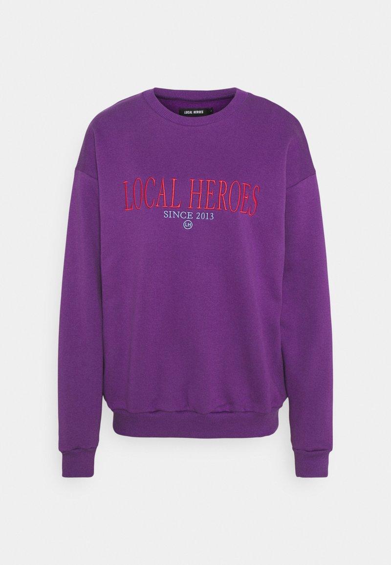 Local Heroes - GRAPE - Sweater - purple
