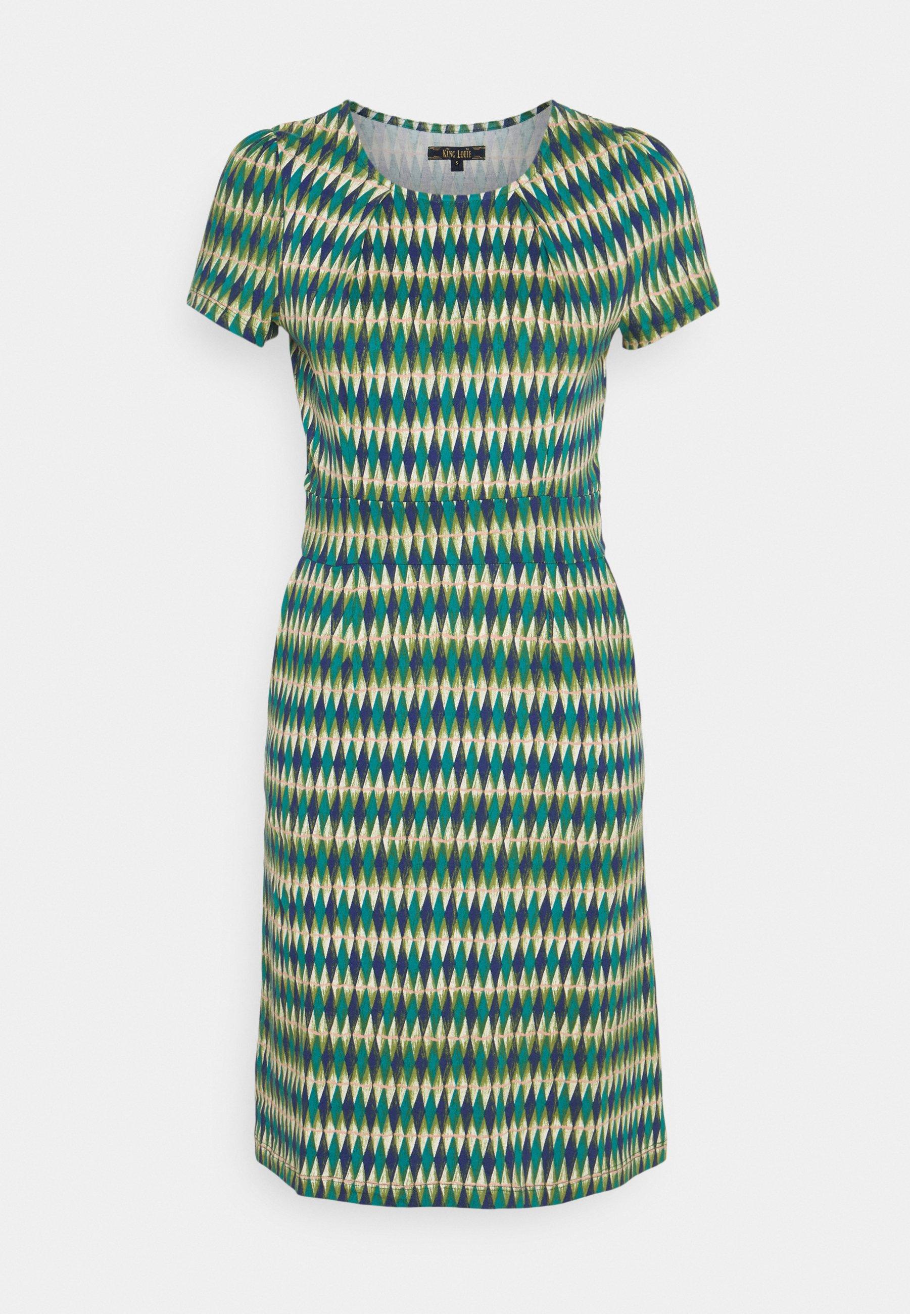 Women MONA DRESS JUNIPER - Jersey dress