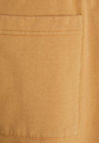 Jaded London - GARMENT DYED WIDE LEG JOGGERS - Pantaloni sportivi - tan - 2