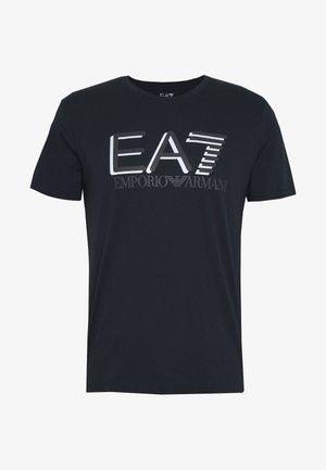 Print T-shirt - blu notte