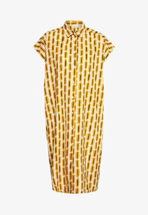 NELLA - Košilové šaty - inca gold