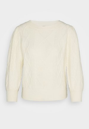 VMDUDA 3/4 SLEEVE O-NECK BLOUSE - Jumper - birch