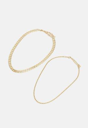 2 PACK - Kaulakoru - gold-coloured