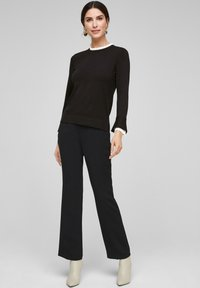 s.Oliver BLACK LABEL - Jumper - black - 5