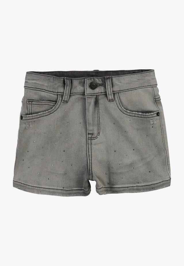 Jeansshort - denim grey