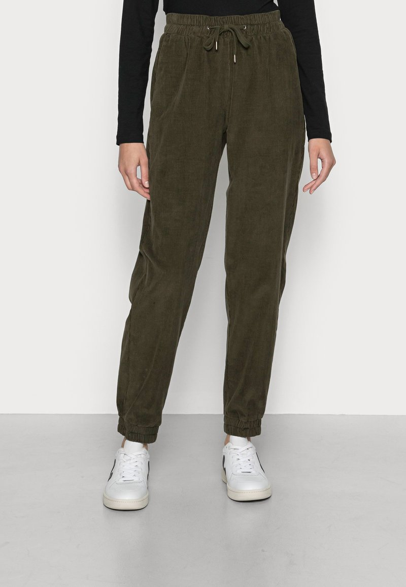 More & More - TROUSER - Trousers - autumn forest