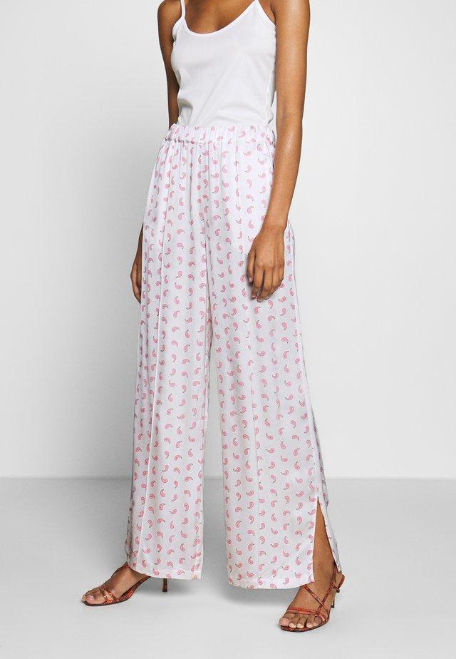 TEKLA PANT - Trousers - white