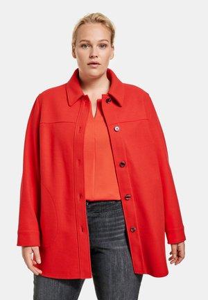 Short coat - power red