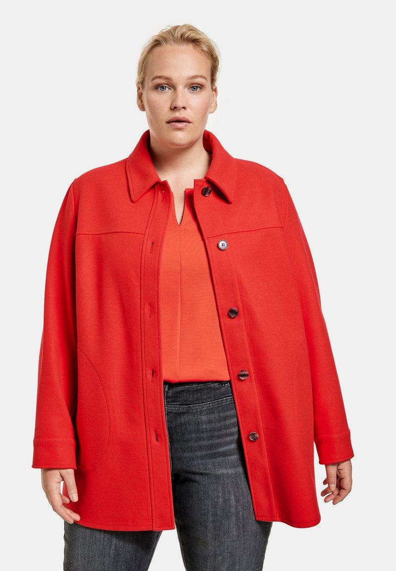 Samoon - Short coat - power red