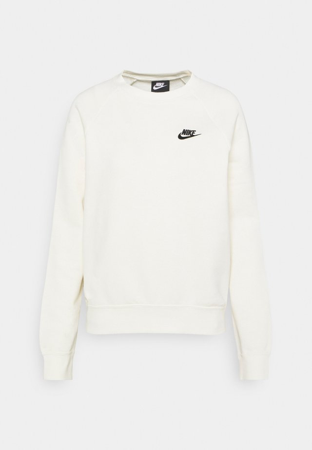 CREW - Sweatshirt - coconut milk/black