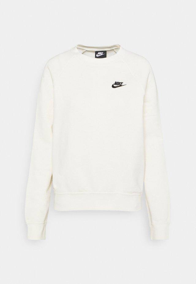 CREW - Sweatshirt - coconut milk/black