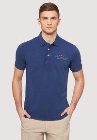 Napapijri - ELBAS - Polo shirt - blue - 0
