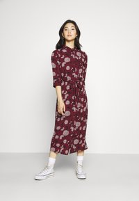 ONLY - ONLNOVA LUX  SHIRT DRESS - Skjortekjole - port royale - 0