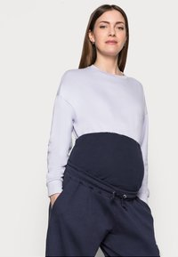 Missguided Maternity - Tracksuit bottoms - navy - 3