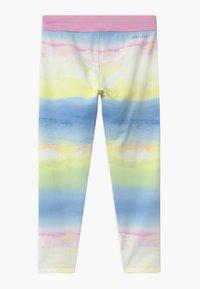 Nike Sportswear - GIRLS ICE LANDSCAPE - Leggings - Trousers - light pink/light blue/light yellow - 1