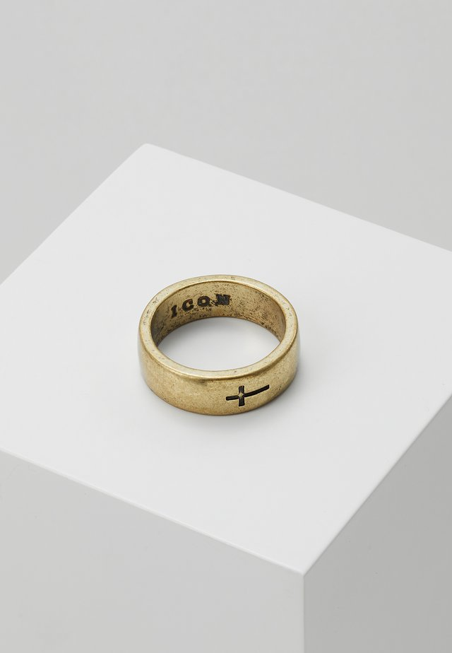 CROSS BAND - Anillo - gold-coloured