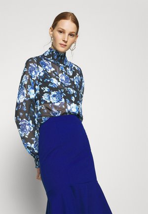 ALICIA TURTLENECK EXCLUSIVE - Blouse - blue
