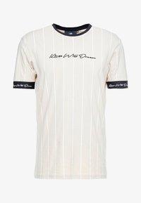 Kings Will Dream - CLIFTON - T-shirt med print - sand /white - 3