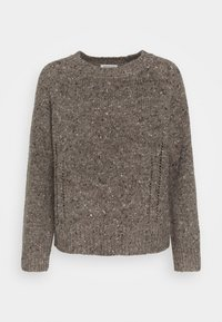 SLFFOREST O NECK - Jumper - coffee bean melange