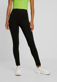 Monki - ED 2 PACK - Leggings - Trousers - black dark - 2